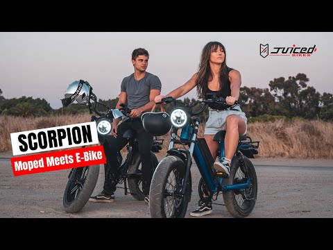 All New SCORPION from Juiced Bikes