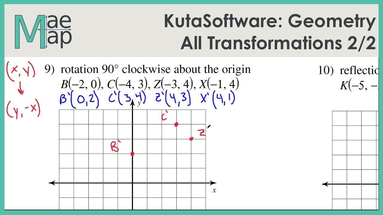 KutaSoftware: Geometry- All Transformations Part 2