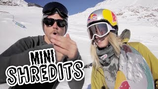 Anna Gasser VS Katie Ormerod: Game of C.O.R.K. | Mini ShredIts Ep 2