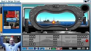 Boat Streams Silent Service II (Amiga)