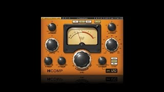Waves H-Comp Hybrid Compressor Tutorial