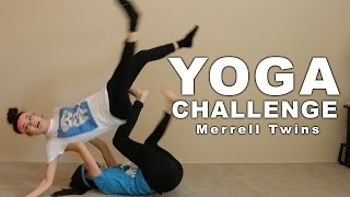 YOGA CHALLENGE - Merrell Twins(We did the Yoga Challenge! PLEASE SUBSCRIBE! We Post New Videos Every Tuesday!!! Watch last weeks video Super Bad Cops 2: ..., 2016-01-19T18:00:20.000Z)