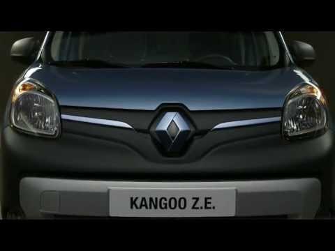 Nouveau Kangoo Z.E. - La première fourgonnette électrique abordable
