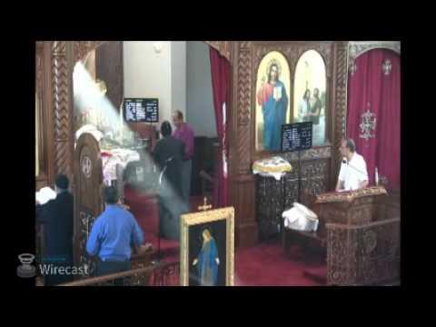 8/24/16 Liturgy - HG Bishop Peter and Abouna Mina