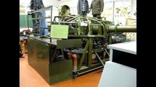 Автомат заряжания танка Т-72. Процесс заряжания.