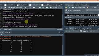 البرنامج التعليمي - 1 الأساسية R البرمجة _How إلى إنشاء ناقلات,مصفوفة n Dataframe في R