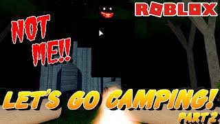 🏕️ Roblox Camping (PART 2) THOR NOS AYUDA ESCAPE! 🏕️