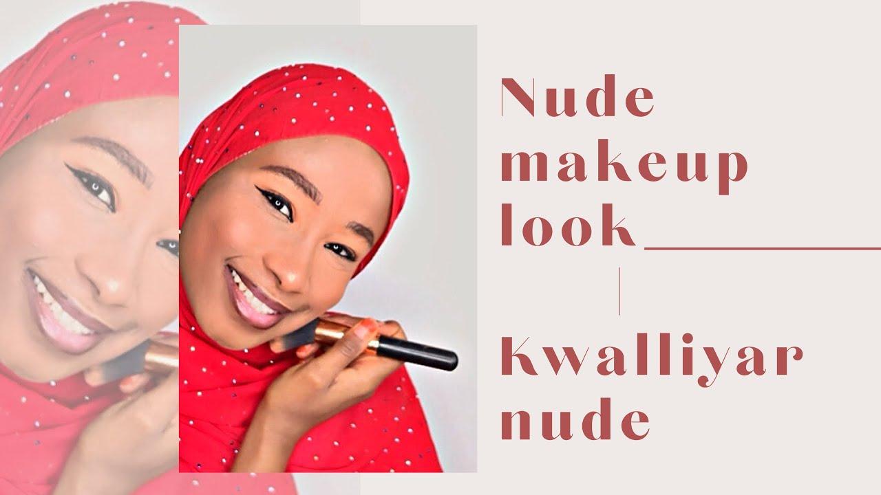 Download Yanda ake kwalliyar da take sajewa da fata | Nude makeup look