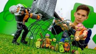 Черепашки ниндзя. Спасение из канализации! Видео игры онлайн для мальчиков