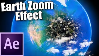 Earth Zoom Effect in After Effects - VLearning