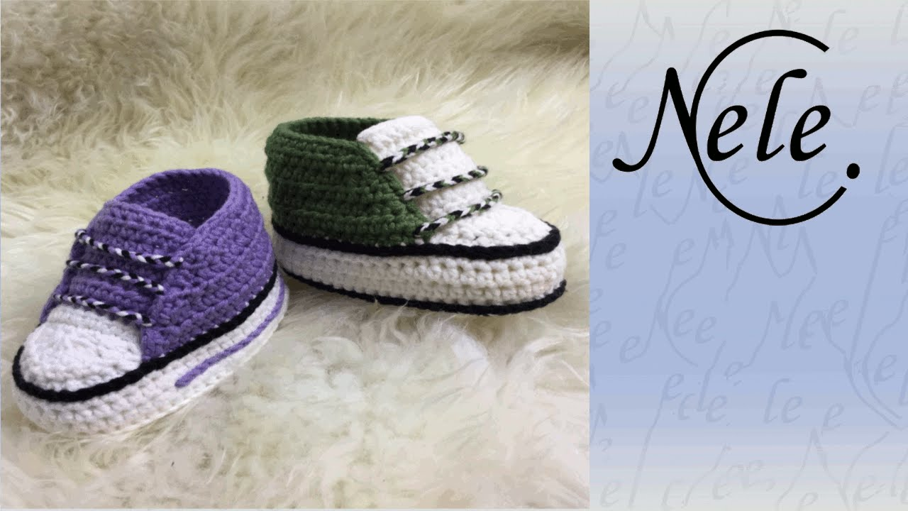 Anleitung Babyschuhe Häkeln Teil 33 Schuhband Diy By Nelec