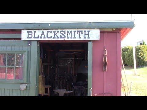 Blacksmith shop tour