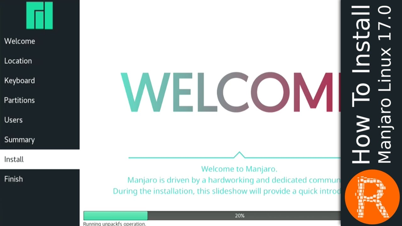 How To Install Manjaro Linux 17 0