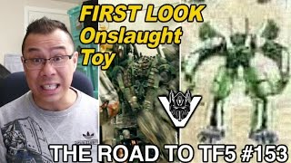 FIRST LOOK at Onslaught, Hot Rod and deluxe Bumblebee - [THE ROAD TO TF5 #153]