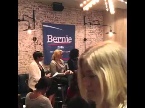 Bernie Sanders Roundtable Live In Harlem New York