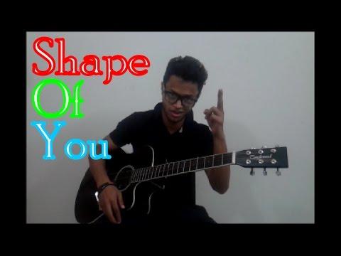 Shape of you percussive guitar cover by Rahidul