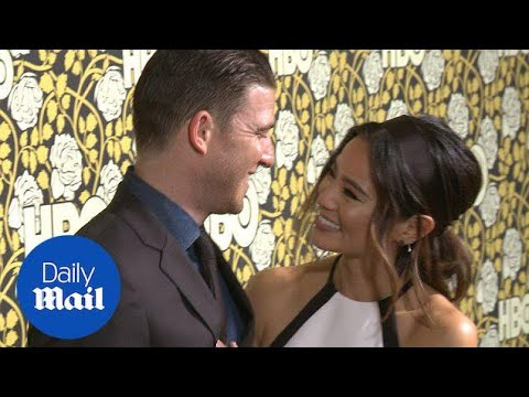 Jamie Chung and Bryan Greenberg loved up at HBO after party  Daily Mail