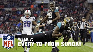 Watch Every Touchdown From Sunday (Week 7) | NFL RedZone
