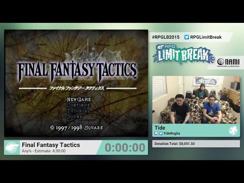 Final tasy Tactics by Tide RPG Limit Break 2015 Part 12