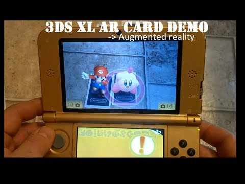 Nintendo 3DS XL AR CARD Demo