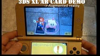 Nintendo 3DS XL AR CARD Demo