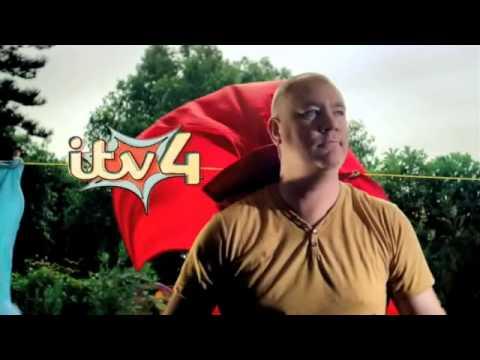 ITV4 Ident 2013 - Superhero