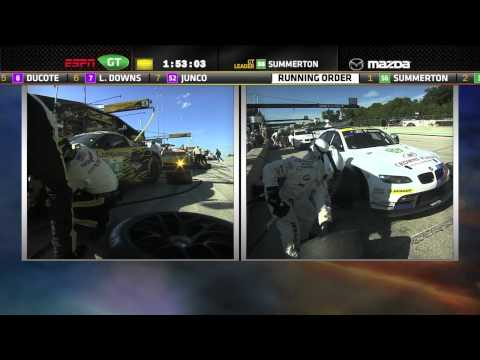 2012 Road America Race Broadcast - ALMS - Tequila Patron - ESPN - Racing - Sports Cars