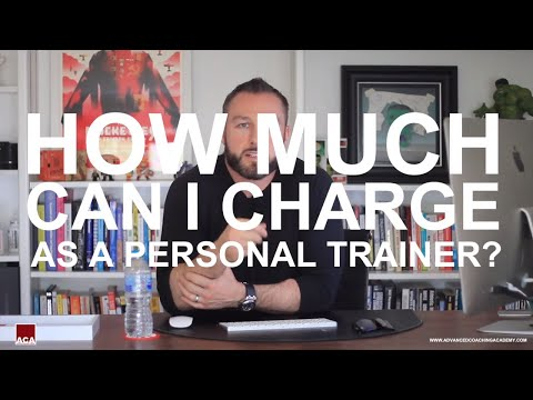 How Much Can I Charge As A Personal Trainer?