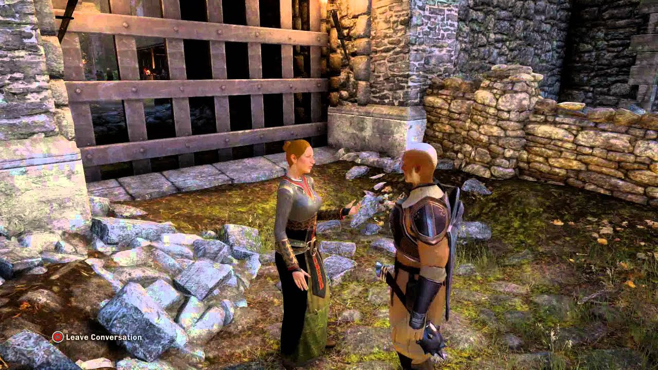 """Dragon Age: Inquisition - Praise The Herald of Andraste: Speaker Anais  """"Show Me"""" """"Prove Power"""" Chat"""