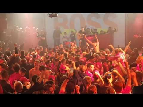 LFC Fans Sing Virgil Van Dijk Song In Munich. Boss Night  13/03/19