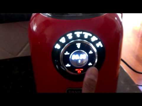 Dash Chef Series Blender-Manual Setting Demo