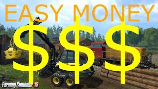 Farming Simulator 15 - Easy Money Trick! No mods/hacks!