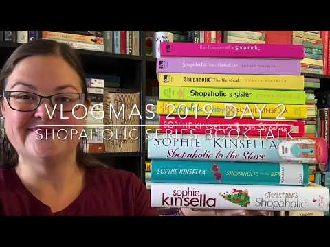 Shopaholic Series Book Talk/Review: Vlogmas Day 2