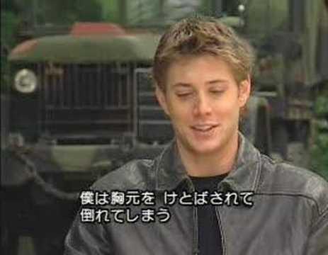 Jensen Ackles Dark Angel Interview