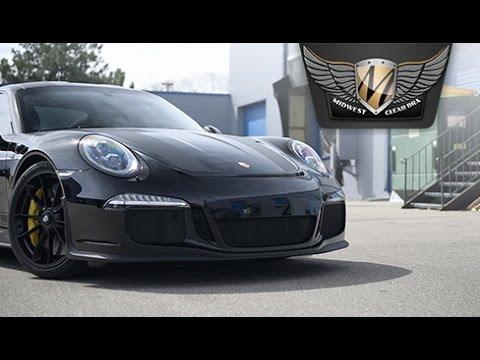 22518a7036 Porsche 911R PPF Installation. Midwest Clear Bra