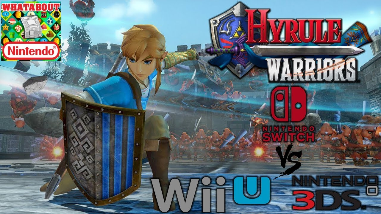 Hyrule Warriors Switch Vs Wii U 3ds Graphics Comparison Analysis Youtube