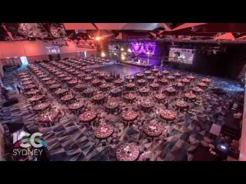 ICC Sydney Event Setup Timelapse 2017