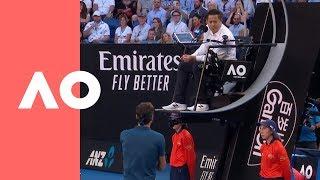 Federer, Tsitsipas lose their cool (4R) | Australian Open 2019