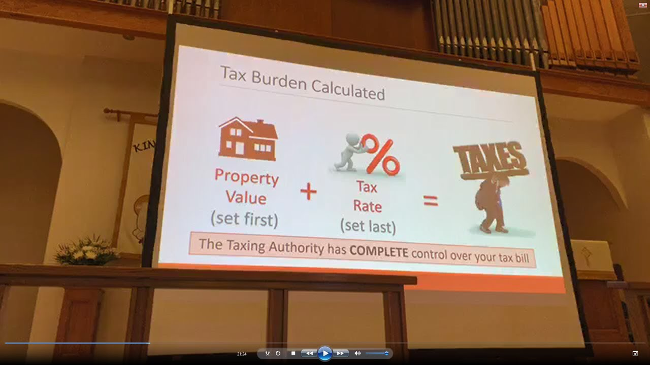 The Texas Property Tax System & How to Protest Your Valuation - 2019, with Scott Grigg