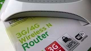 TP-Link TL-MR3420 4G/3G Wireless Router Unboxing and First Look