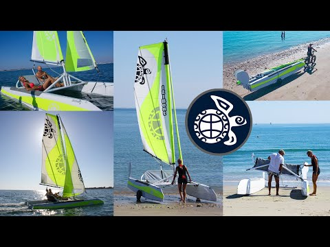 IZIBoat LA VOILE FACILE - IT'S TIME TO SAIL EASY !