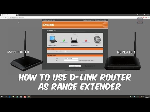 How To Setup D-link Router As Repeater For Range Extending