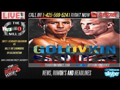 WTF Gennady Golovkin vs Billy Joe Saunders In Kazakhstan GGG Looking Past Jacobs
