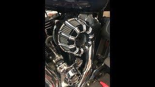 DK premium discrete breather & Arlen Ness Inverted air filter installation