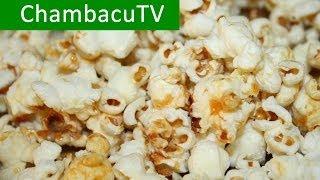 Как приготовить попкорн в домашних условиях / Воздушная кукуруза