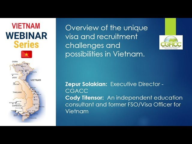 CGACC Vietnam Webinar Series PART I