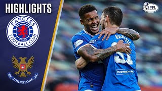 Rangers 3-0 St Johnstone | Rangers Move to the Top of the League with a Win | Scottish Premiership
