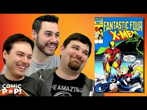 Fantastic Four vs X-Men on Back Issues #FantasticFour