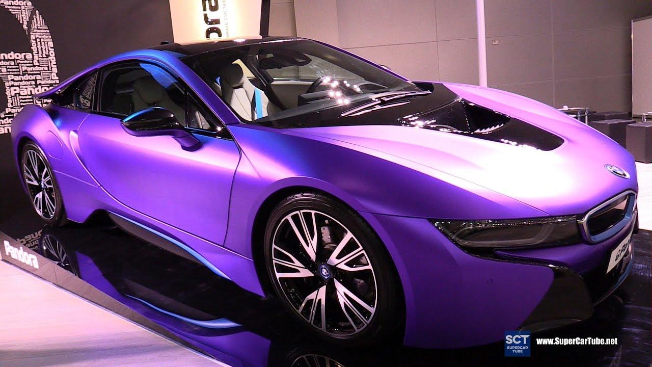 I8 Exterior: 2016 BMW I8 IDrive Pandora