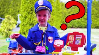Ksysha pretend play Police and rules of conduct for kids
